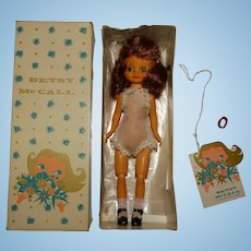 """TLC Vintage American Character 8"""" Tosca Betsy McCall Doll w/Box"""