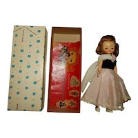 """American Character 1950s 8"""" Betsy McCall Doll w/Box"""