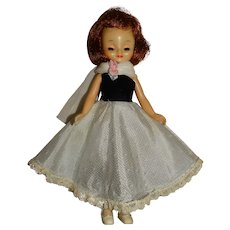 """American Character 1950s 8"""" Betsy McCall Doll w/Formal Dress"""