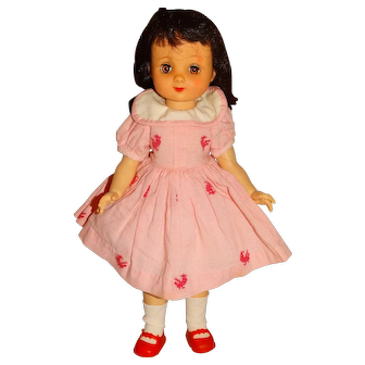 "American Character 1950s 14"" Betsy McCall Doll w/Pink Outfit"