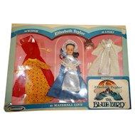 Horsman 1960s MIB Elizabeth Taylor THe Bluebird Doll