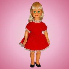 """Vogue 1960 Blonde 16"""" Brikette Doll"""