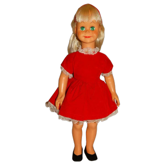 "Vogue 1960 Blonde 16"" Brikette Doll"