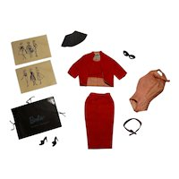 Vintage Barbie Complete Busy Gal Outfit