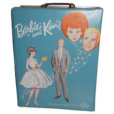 Vintage Barbie Blue Barbie & Ken Trunk