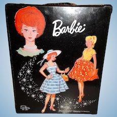 Vintage Barbie Black Suburban Shopper/Country Fair Trunk