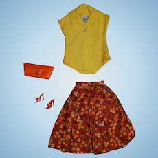 Vintage Barbie Complete Country Fair Outfit
