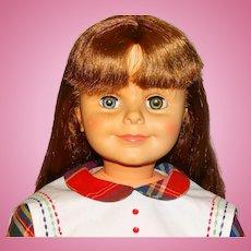 """Ideal Vintage 1960 Brunette 38"""" Daddy's Girl Doll"""
