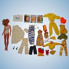 "Vintage Kenner 1978 Blonde 12"" Darci Doll w/Clothes"