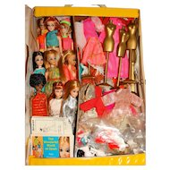 Topper Huge Vintage Dawn Doll Lot