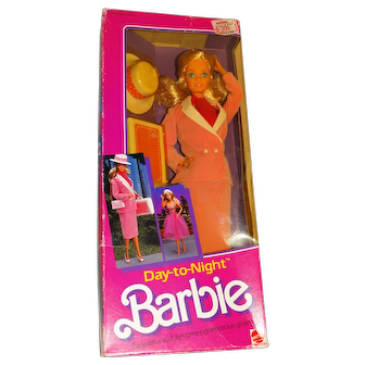 Barbie NRFB 1984 Day To Night Doll