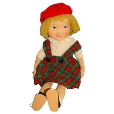 "Vintage 1960s Cloth 22"" Eloise Doll"