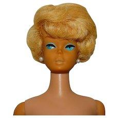 Vintage Platinum Blonde European Side Part Bubblecut Barbie Doll
