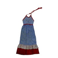 Vintage Francie Best Buy #8644 Maxi Dress