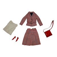 Vintage Francie Complete Checkmates Outfit