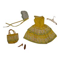 Vintage Francie Complete Fresh As A Daisy Outfit