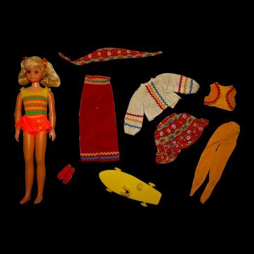 Vintage Barbie Complete Sears Living Fluff Sunshine Special Giftset
