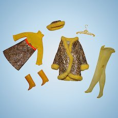 Francie Vintage Complete Snake Charmers Outfit
