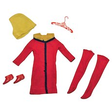 Vintage Francie Complete Swingin' Skimmy Outfit