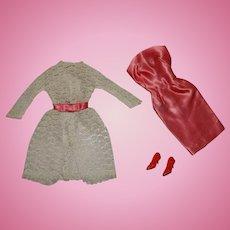 Vintage Barbie Complete Garden Wedding Outfit