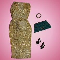 Vintage Barbie Golden Girl Outfit