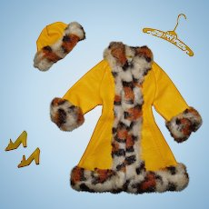 Vintage Barbie Complete Great Coat Outfit