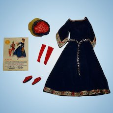 Vintage Barbie Complete Guinevere Outfit