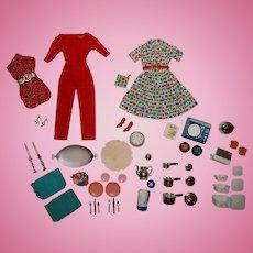 Vintage Barbie 99% Complete Hostess Set Outfit