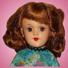 "Mary Hoyer 1950s Dark Blonde 14"" Doll"
