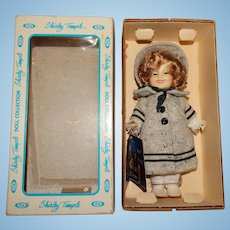 "Ideal 1982 NRFB Shirley Temple 8"" Dimples Doll"