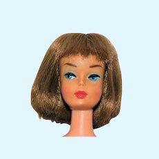 Vintage Brownette Japanese Exclusive Pink Skin Bend Leg American Girl Barbie Doll
