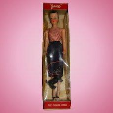 Vintage MIB 1960s Hong Kong Blonde Jane The Fashion Doll Clone