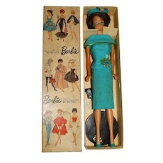 Vintage Barbie Japanese Exclusive Dressed Box Fashion Editor Bubblecut Doll