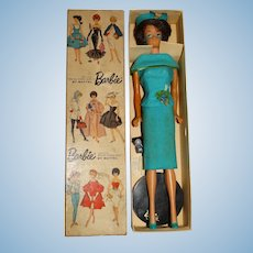 Vintage Barbie Japanese Exclusive Dressed Box Fashion Editor Bubblecut Doll