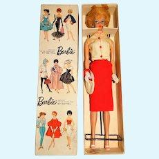 Vintage Blonde Japanese Exclusive Dressed Box Crisp & Cool Bubblecut Barbie Doll