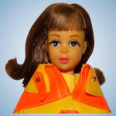 Barbie Vintage Brunette Japanese Exclusive Francie Doll w/Clam Diggers Outfit