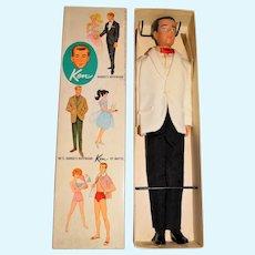 Vintage Brunette Japanese Exclusive Dressed Box Best Man Ken Doll