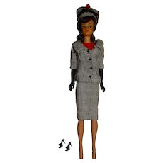Vintage Brunette Japanese Exclusive Dressed Midge Doll w/Career Girl Outfit