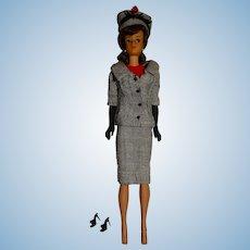 Vintage Brunette Japanese Exclusive Dressed Midge Doll w/Career Girl Outfit