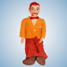 "Vintage 1950s 31"" Paul Winchell Jerry Mahoney Ventriloquist Dummy"