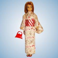 Vintage Redhead Japanese Exclusive Skipper Doll w/Kimono
