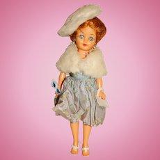 "Vogue 1960s 10"" Jill Doll w/Bubble Dress Outfit"