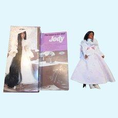 Ideal 1975 African American Jody Doll w/Box