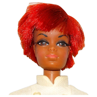 Vintage Barbie Twist & Turn Nurse Julia Doll