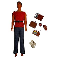 Vintage Brunette Busy Ken Doll