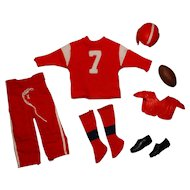 Vintage Ken Complete Football Outfit
