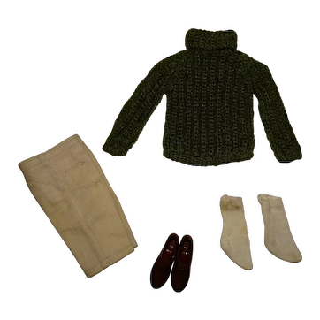 Vintage Ken Complete Hiking Holiday Outfit
