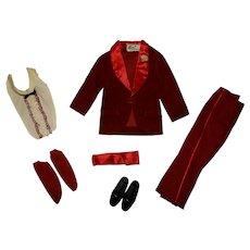 Vintage Ken Complete Night Scene Outfit