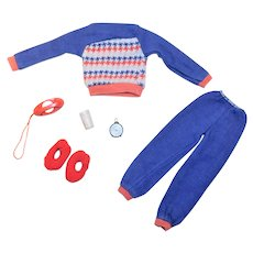 Vintage Ken Complete Off To Bed Outfit
