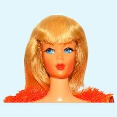 Vintage Blonde Dramatic Living Barbie Doll